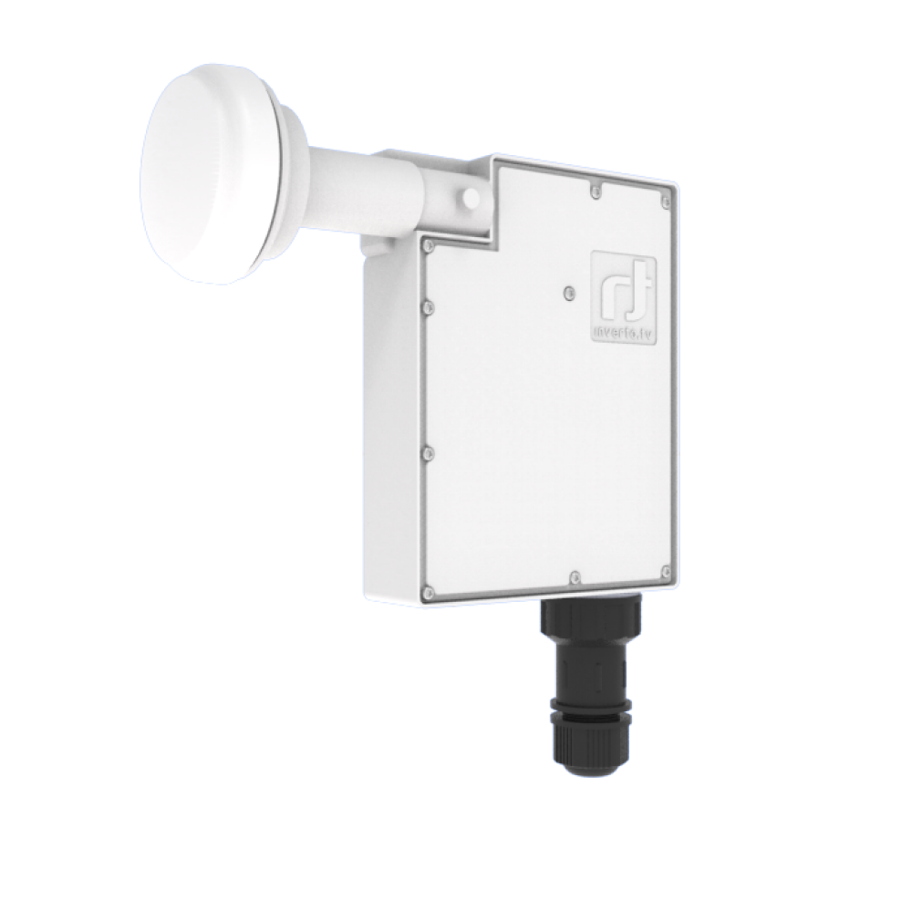 8 channel SAT>IP LNB with PoE Adapter - Inverto TV